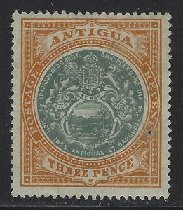 Antigua 1903 3d Seal of the Colony Sc# 25 mint