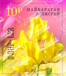Stamps of Ukraine (local) 2018 - Maykaragan Volzhsky (No. 124 A)
