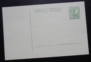 Yugoslavia c1990 Unused Postal Stationery Card 30 Dinara A3