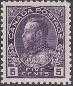 CANADA 112 FVF MH (102618)