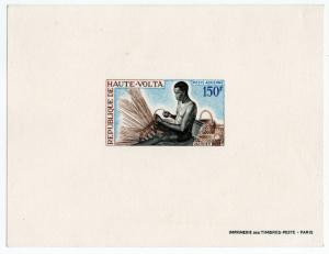 (I.B) Upper Volta Postal : Air Mail 150Fr (proof)