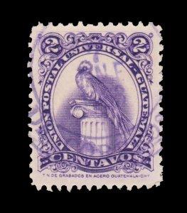 GUATEMALA STAMP 1957. SCOTT # 367. USED. # 2