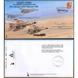 COF54 Desert Storm the Highest Tech War Signed by P Hine Only 100 Produced