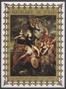 1972 Chad 539/B42 Artist / Peter Paul Rubens 10,00 €