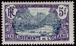 French Polynesia SC#54 Mint F-VF...fill a key spot!!