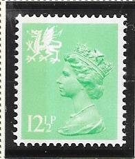 Great Britain-Wales & Monmouthshire # WMMH20 (MNH) $4.50