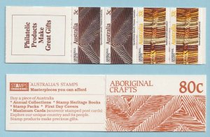 AUSTRALIA 1029a - TWO BOOKLETS  MINT NEVER HINGED OG ** EXTRA FINE! - X924