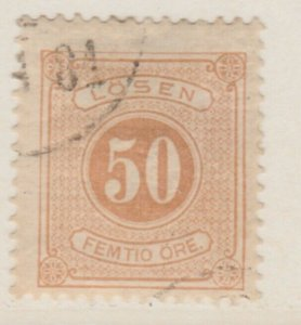 Sweden Postage Due 1874-86 50o Perf 13 Fine Used A13P19F149