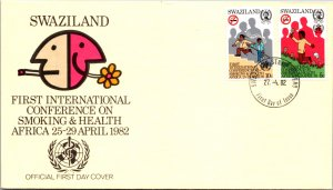 Swaziland, Worldwide First Day Cover, Medical