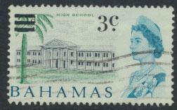 Bahamas  SG 275 SC# 232 Used  OPT Decimal Currency 1966