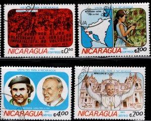 Nicaragua 1983 SC# 1225-1228 (3)