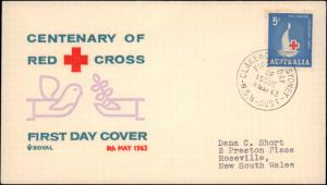 Australia, Worldwide First Day Cover, Red Cross