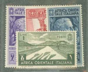 Italian East Africa 10-13 Mint VF H