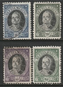 San Marino Sc 97-100 partial set used
