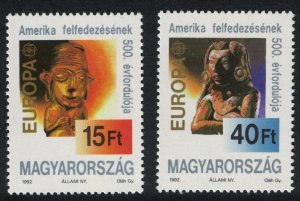 Hungary 500th Anniversary of Discovery of America by Columbus 2v SG#4092-4093