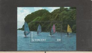 SAINT VINCENT 1099 SOUVENIR SHEET MNH 2019 SCOTT CATALOGUE VALUE $6.75