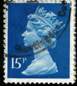 Queen, Great Britain 15p (T-4744)