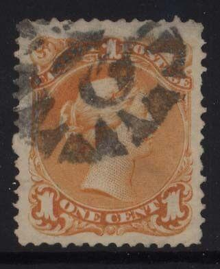 Canada #23 Used Superb One Of A Kind With Ideal Cancel