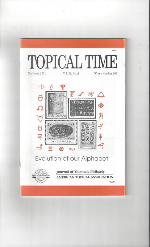 Topical Time Magazine MAY-JUN 2001  Number 307, ATA Journal