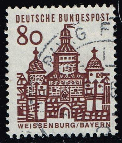 Germany #912 Elling Gate - Weissenburg; Used (0.40)