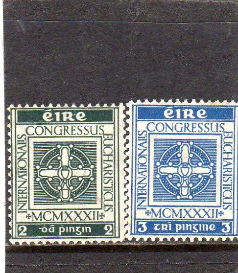 Ireland 1932  Eucharistic Congress MNH