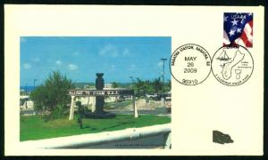 2009 Welcome To Guam Event Cover - One Dog Cachet