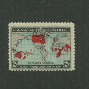 1898 Canada Postage Stamp #86 Mint Never Hinged F/VF