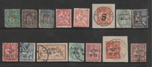 France PO.s in China a small used lot