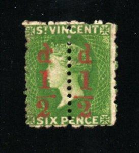 Saint Vincent - SG# 33a MH OG / Un-severed Pair     /    Lot 0421289