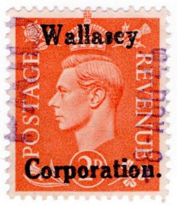 (I.B) George VI Commercial Overprint : Wallasey Corporation