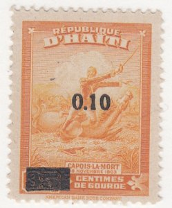 Haiti, Sc 383, MVLH, 1947, Col. Francois Capois