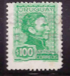 Uruguay Scott 845 Used stamp