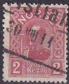 Norway #69 F-VF Used CV $9.00 (Z9601)