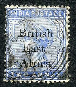 KUT 1895 2a Variety Wide B of British Used