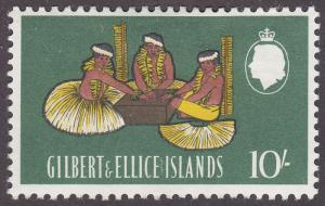Gilbert & Ellice Islands 102 Men Beating Boxdrum 1965