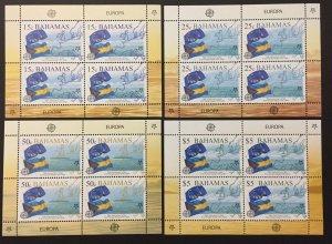 Bahamas 2005 #1150-3 Sheetlets, Europa 50th Anniversary, MNH.