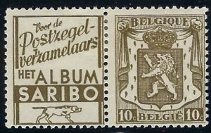 RK101 Belgium with ad label  BIN $3.00