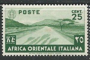 Italian East Africa ||  Scott # 7 - MH