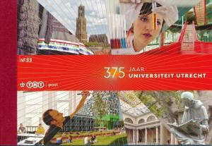 [20738] Netherlands Niederlande 2011 Prestige Booklet PR33 Utrecht University