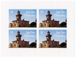 (I.B-JA) France Cinderella : Isle of Chausey Local Post 3Fr