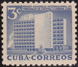 1953 Cuba Stamps Sc 513 Board of Accounts Building MNH