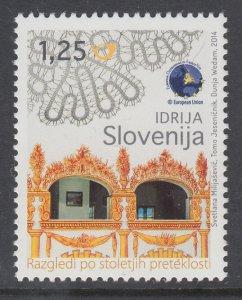 Slovenia 1033 MNH VF