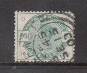 Great Britain #106 Used Fine - Very Fine With Ideal Date Cancel