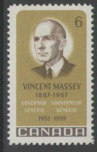 CANADA SG633 1969 VINCENT MASSEY MNH