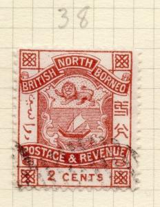 North Borneo 1888-92 Early Issue Fine Used 2c. 274231