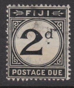 FIJI POSTAGE DUE 1918 2d SG D8 fine used...................................54865