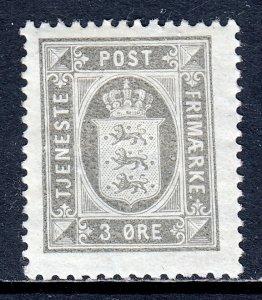 Denmark - Scott #O17 - MH - Gum wrinkle - SCV $4.00