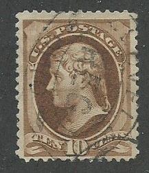 1882 United States Scott Catalog Number 209 Used