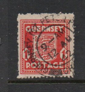 Guernsey Sc N2 1941 1 d Occupation stamp used