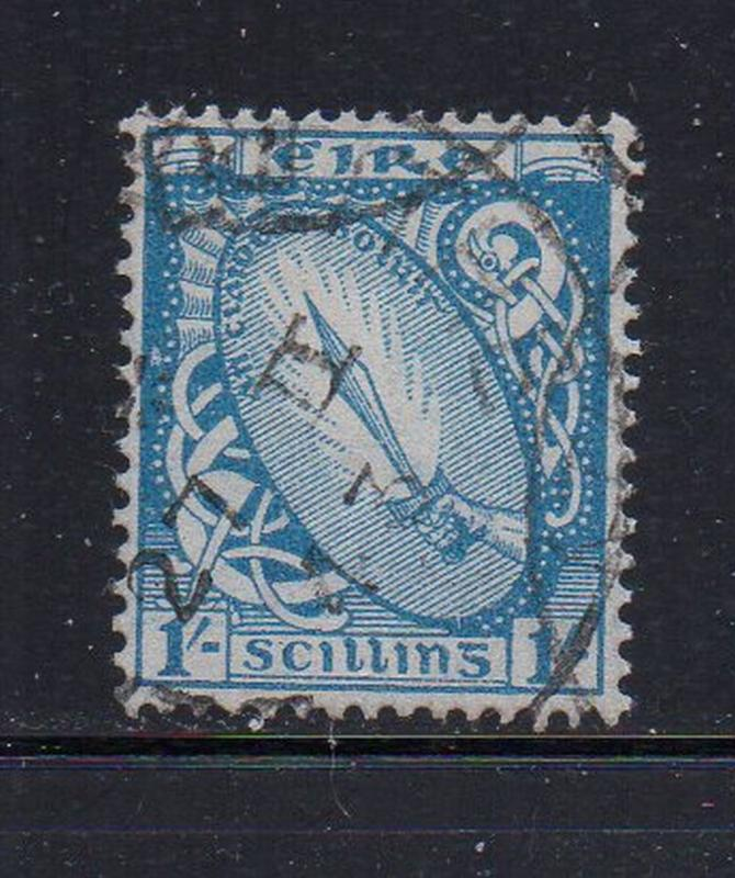 Ireland Sc 117 1940 1/ Sword of Light stamp used